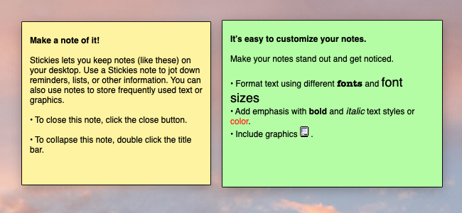 How to Create and Use Sticky Notes on Mac