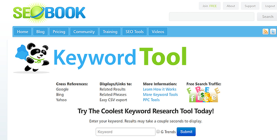 5 Free and effective tools to find the right keyword for