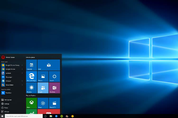 A Defect Windows 10 System that Prevents Computer from