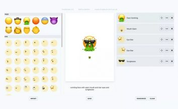 How to Build your own emoji online