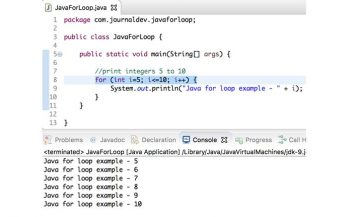 Learn loop for in Java (in quite simple language)