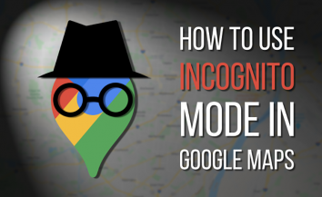 How to enable incognito mode on Google Maps